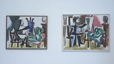 Pablo Picasso Le Peintre et Son Modele, 1963