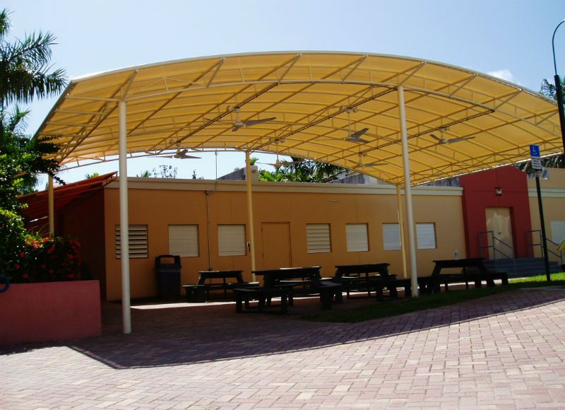 Hospitals School Awnings Amp Canopies Miami Awning Company