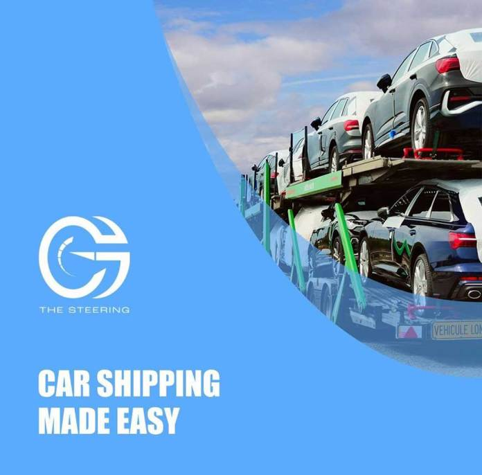The Steering:  Car Shipping Made Easy