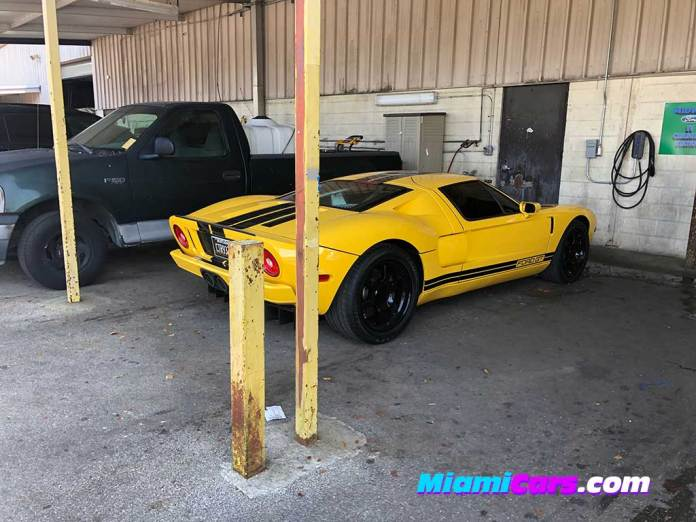 Ford GT Serviced at Midway Ford