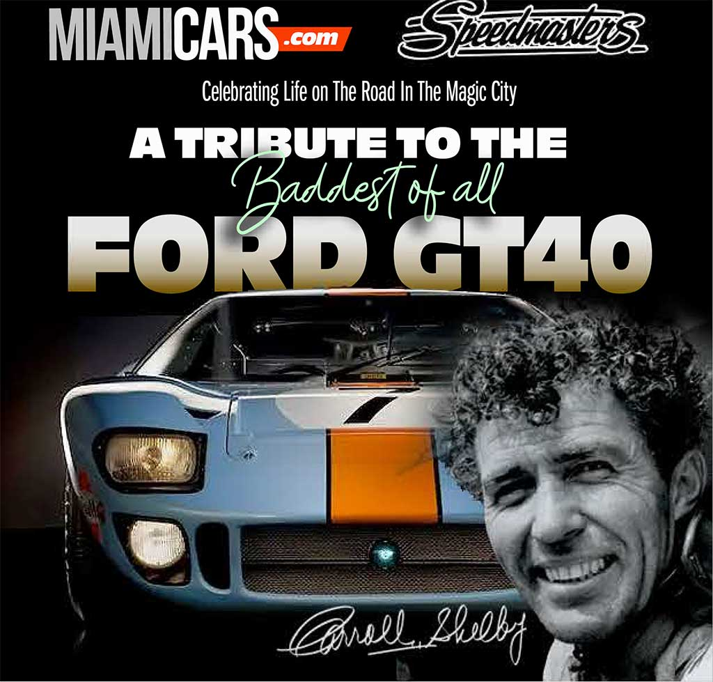 A tribute to the baddest of all Ford GT40