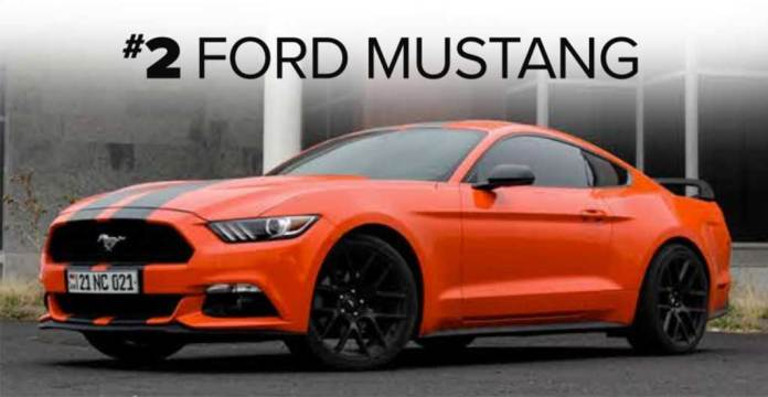Ford Mustang - Ranked the 2nd Best Car for Miami Single Men