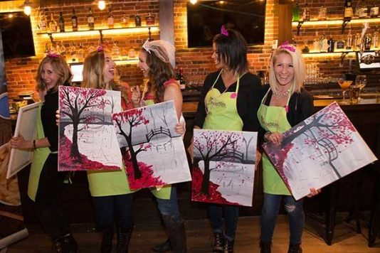 painting and wine classes miami