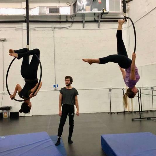 Les Ailes du Desir, circus school Miami, MiamiCurated,circus class Miami