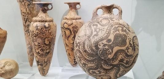 Minoan art, Knossos museum, crete travel, greece travel, luxury greek travel, MiamiCurated