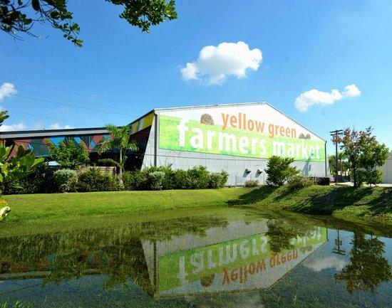 yellow and green farmers market, miami farmers markets, miamicurated