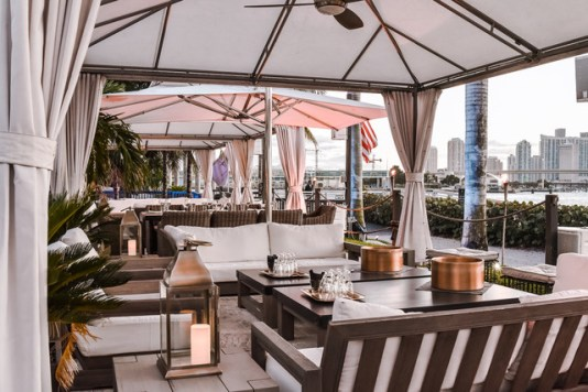 best outdoor dining in Miami, miamicurated
