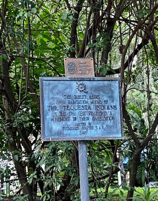 The Mound El Portal, Tequesta Indian monument Miami, MiamiCurated