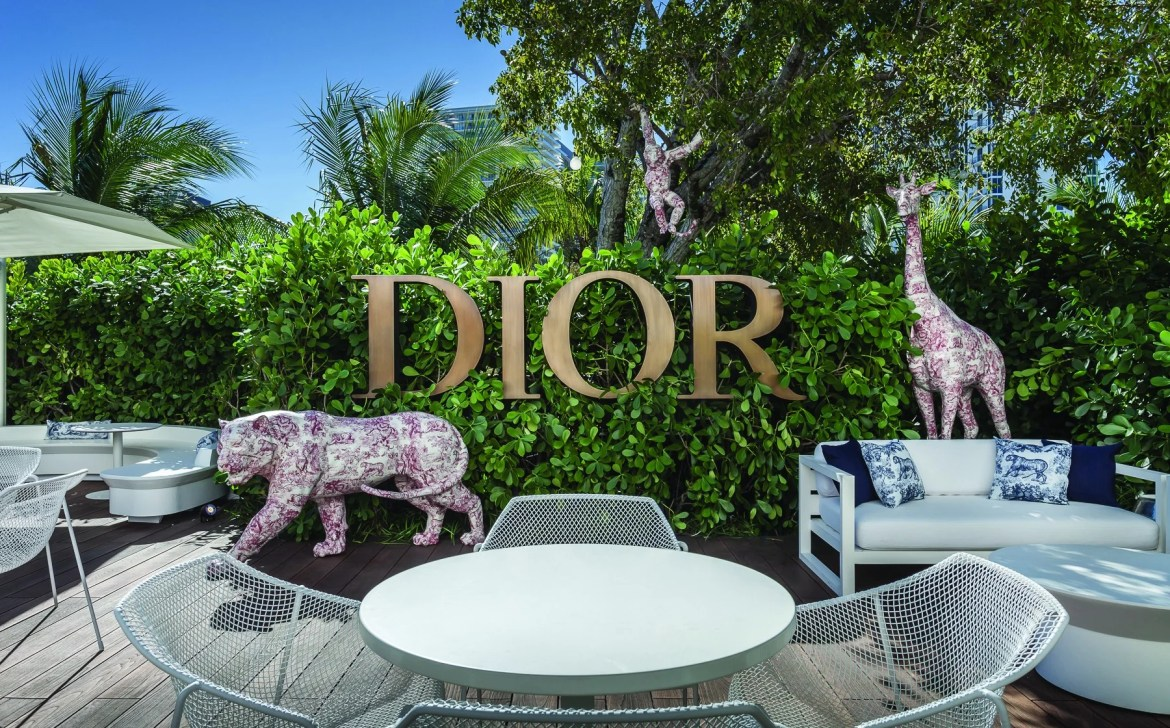 Dior Pop-Up Café | Miami Design District