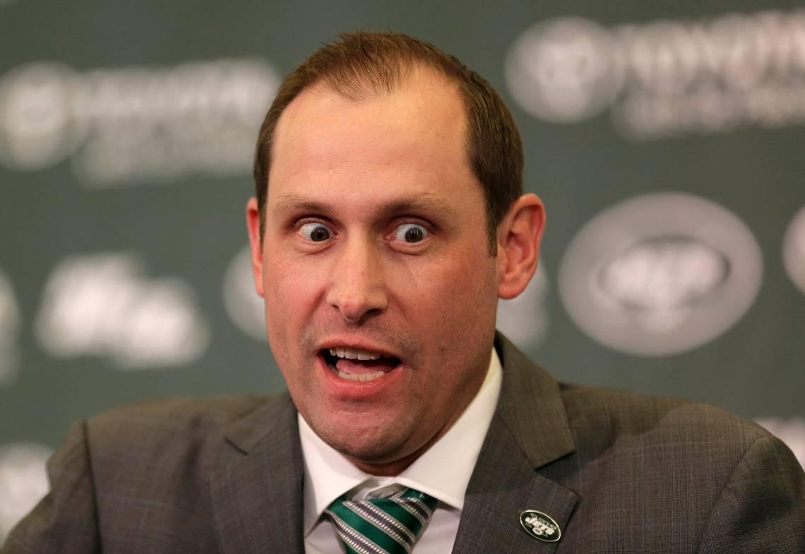 Jets fans buy 'Fire Gase' billboards outside MetLife Stadium | Miami Herald