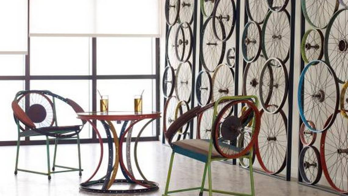 Interior Design The Hipness Of Bicycle Decor Miami Herald