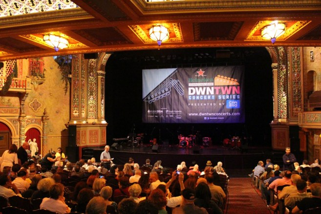 The beautiful Olympia Theater at the Gusman Center