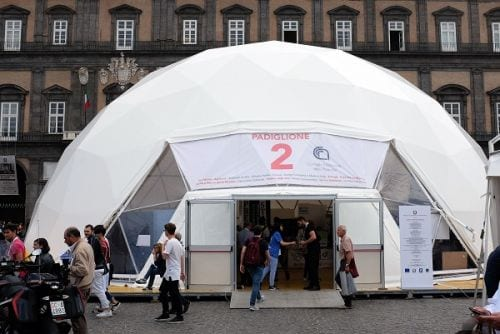 Il padiglione 2 di Futuro Remoto ospita le attività e iniziative del Cnr