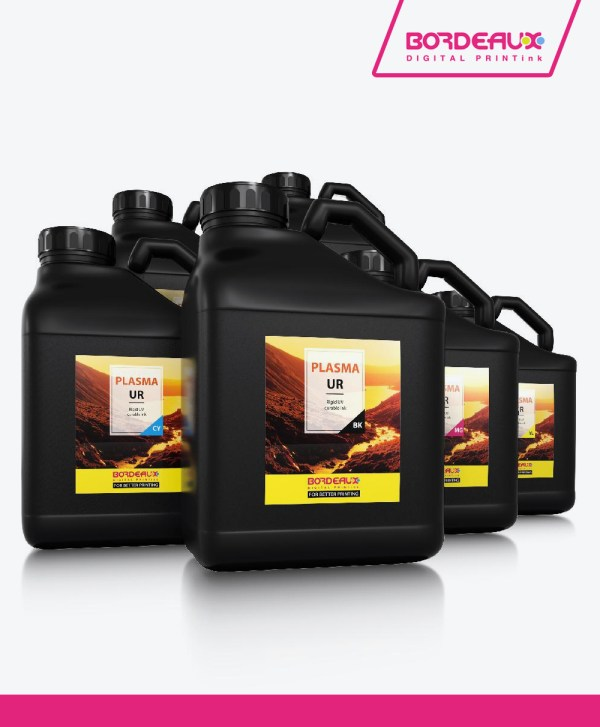 Bordeaux PLASMA LED LF Flexible UV Inks