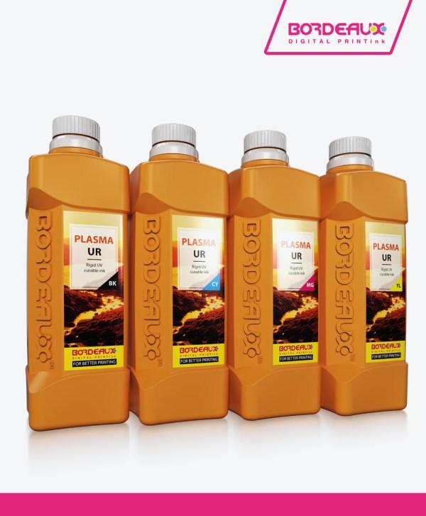 Bordeaux PLASMA US™ Super Flexible UV Ink