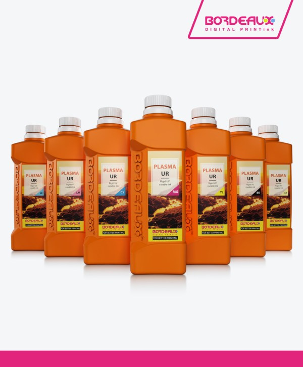 Bordeaux PLASMA UF™ UV Inks