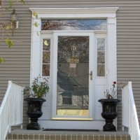 Door Replacement - Not Energy Efficient - Before