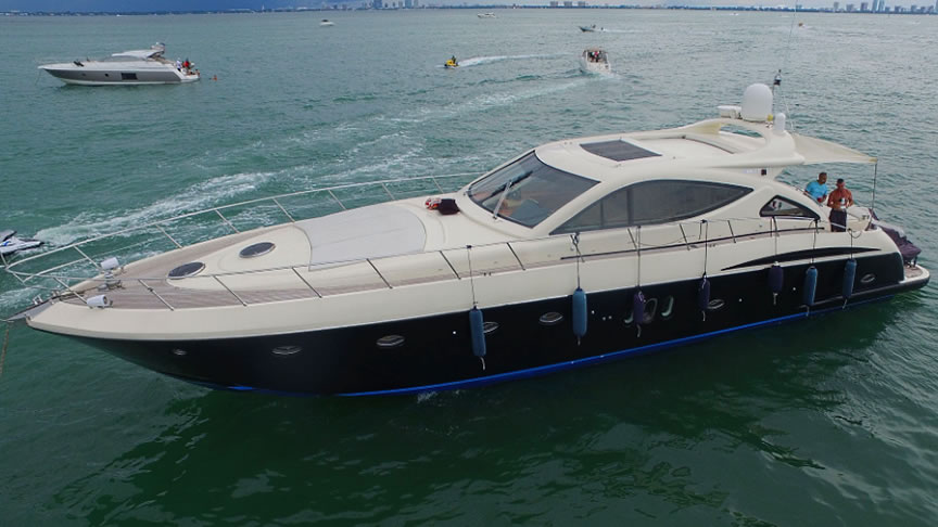 48 68 FT Miami Yachts Amp Luxury Boats Charter
