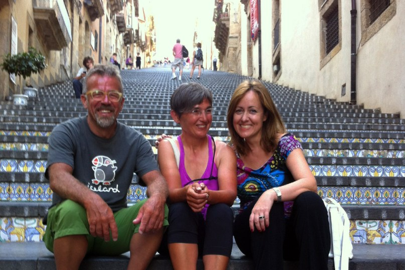 12 Italia e isole 2013_Tiziano, Milena e Cristina, Caltagirone