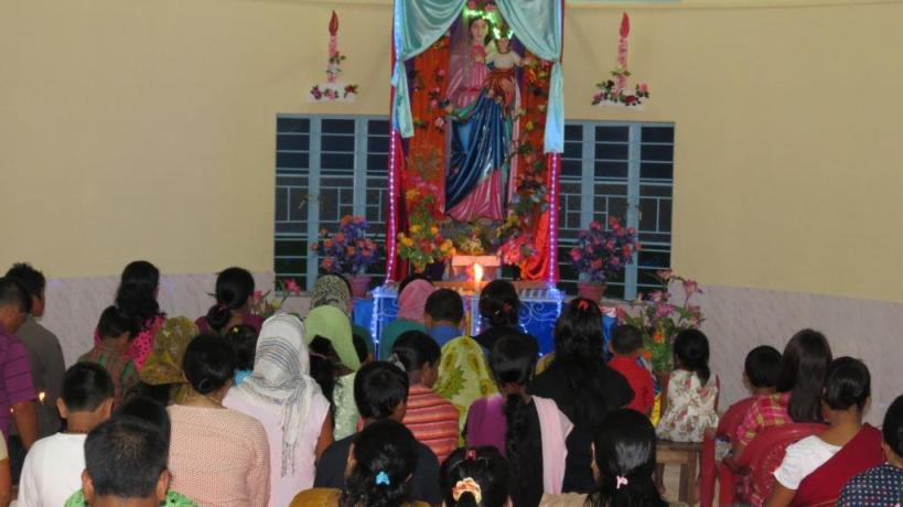 Mother Mary, Pray for us - Miao Observes Marian Month