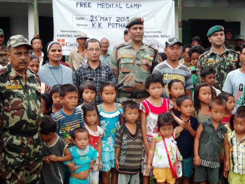 Free Medical Camp in Kaikepathar Village
