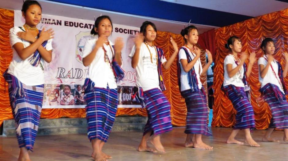 A Tangsa Tribal Dance by the Students of Newman School, Neotan