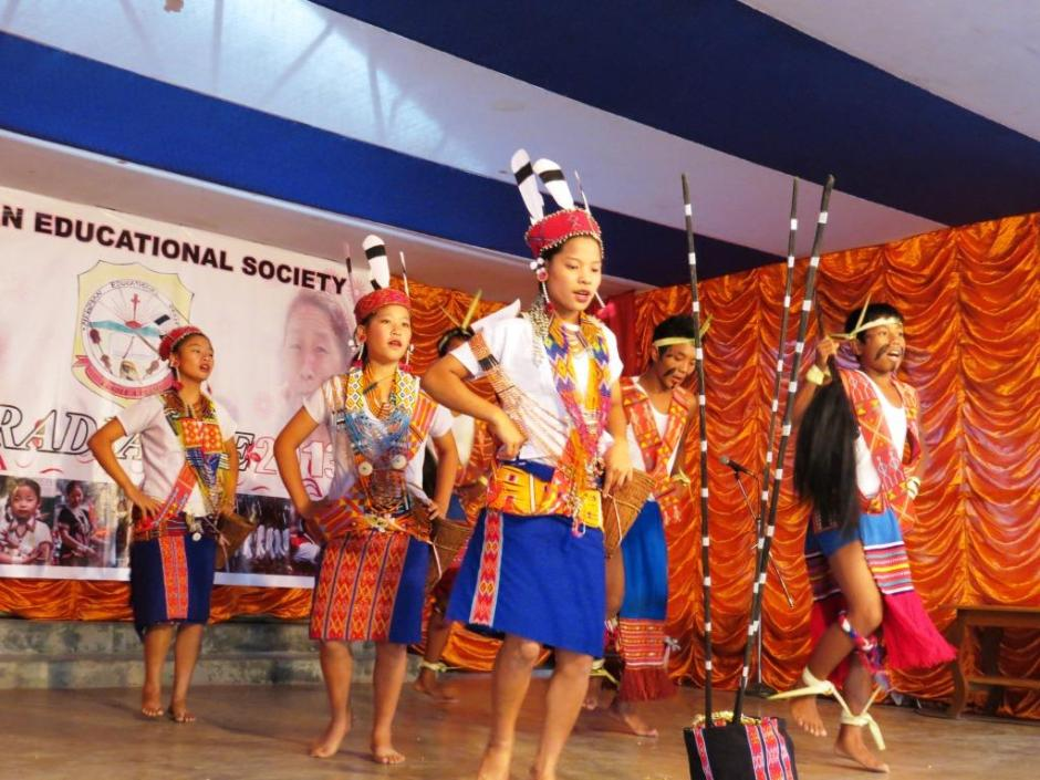A Wancho Tribal Dance