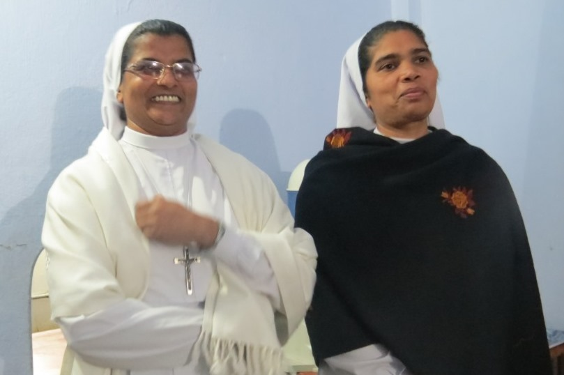 Thank you Sr. Jessy and Welcome Sr. Reena