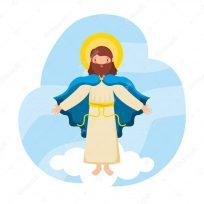 Jesús asciende al cielo