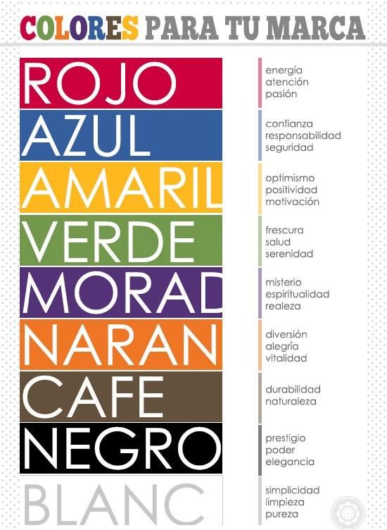 colores y publicidad