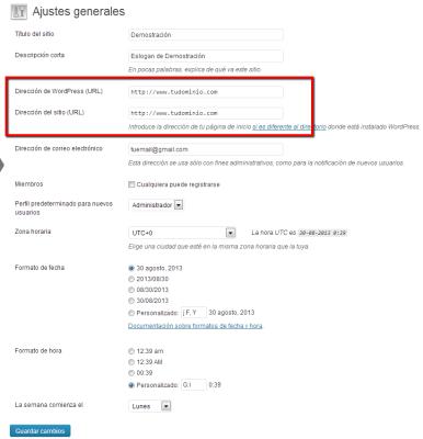 subdominio a dominio con franquicia de impacto 5