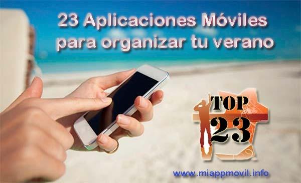 23 aplicaciones para organizar tu verano