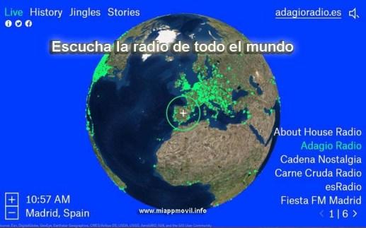 escucha la radio de todo el mundo