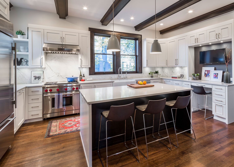 Chicago Interior Design Tudor Meets Modern Kitchen Mia