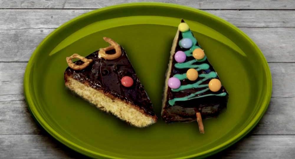 #DIY Christmas Cake Decor