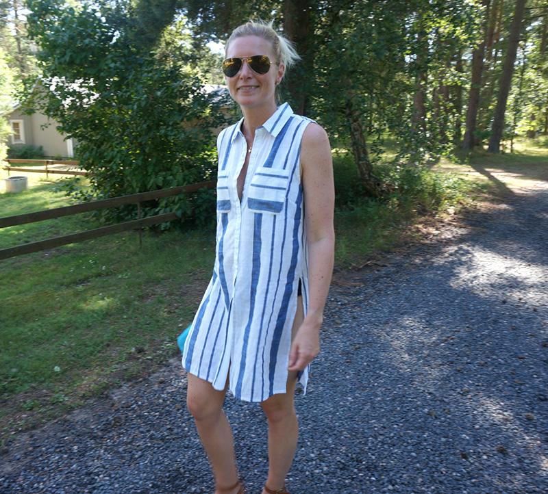 Långskjortan Carla från Capri Collection