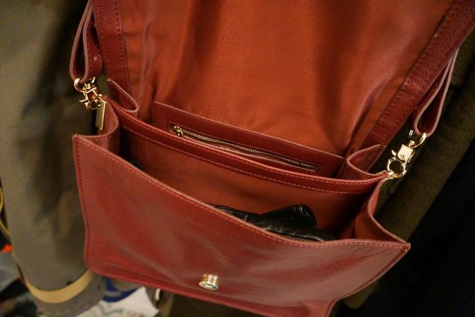 Öppen väska