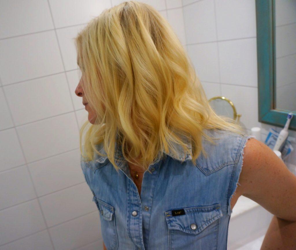 lockat hår