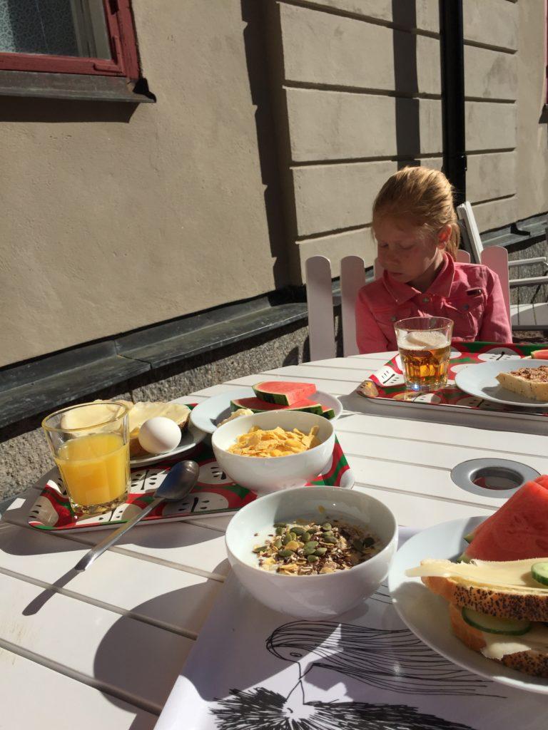 Frukost på Kastellet