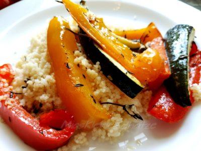 Rezept: Couscous mit Ofengemüse