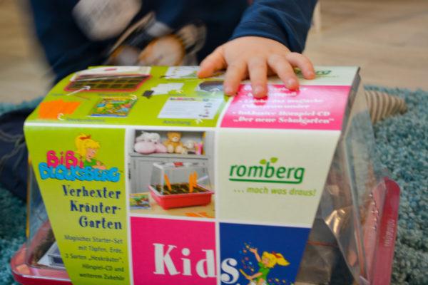 Bibis verhexter Kräutergarten - für kleine Nachwuchsgärtner