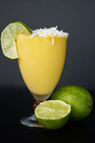 Mango Coconut Daiquiri.