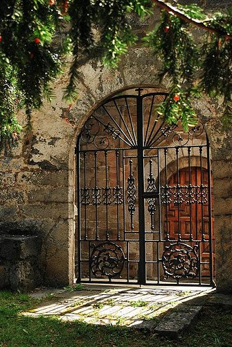 Gated Entry, Asturias, Spain