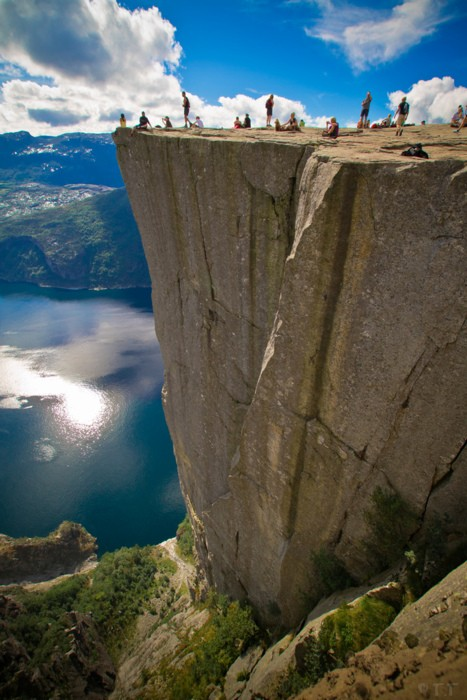 On The Edge, Pulpit Rock, Norway