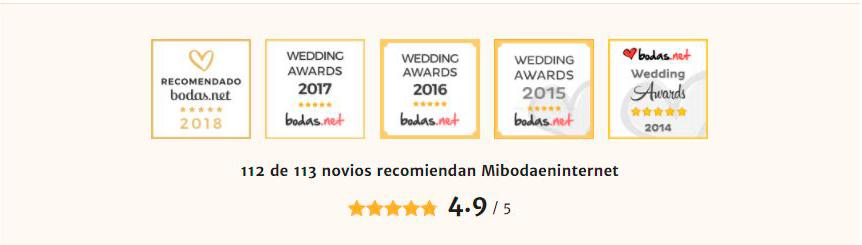 bodas.net recomiendan mibodaeninternet.com