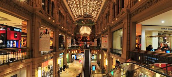 Buenos Aires Compras 2017 - Shopping Galerías Pacífico