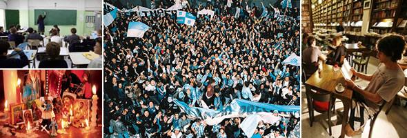 Población y costumbres de la Argentina