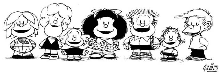 Arte Cultura Argentina - Historietas Quadrinhos Argentinos - Mafalda Quino