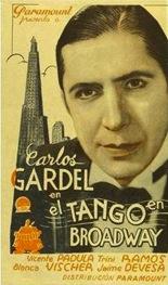 El Tango en Broadway (1934, USA) - Carlos Gardel