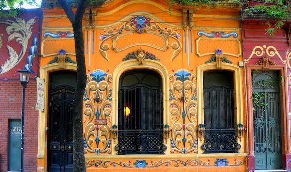 Barrio Fileteado Abasto Buenos Aires Argentina